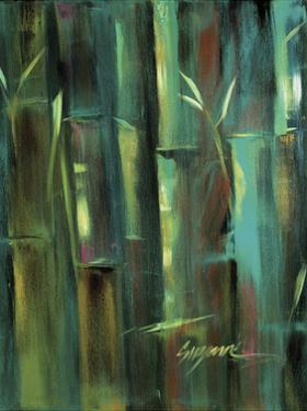 Turquoise Bamboo II by Suzanne Wilkins