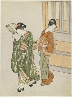 Clearing Breeze from a Fan, after 1766 by Suzuki Harunobu