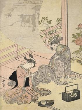 Cortesan Dreaming by Suzuki Harunobu