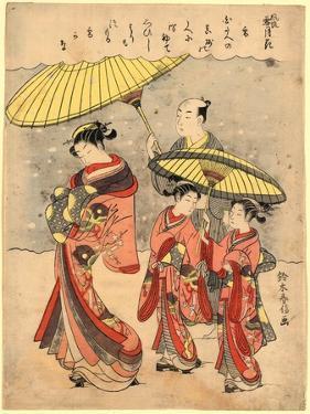 Yuki by Suzuki Harunobu