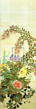 Flowers and Grasses I by Suzuki Kiitsu