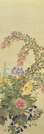 Flowers and Grasses I
