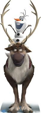 Sven and Olaf - Disney's Frozen Lifesize Cardboard Cutout