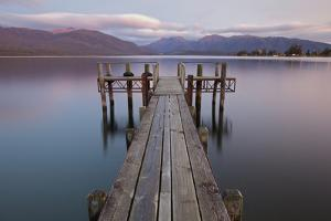 Lake Te Anau Jetty by Sven Klerkx