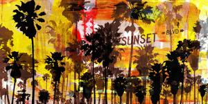 Sunset and Palms 2 by Sven Pfrommer