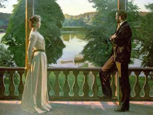 Nordic Summer Evening, 1899-1900 by Sven Richard Bergh