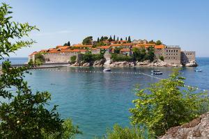 Sveti Stefan, near Budva, Montenegro.