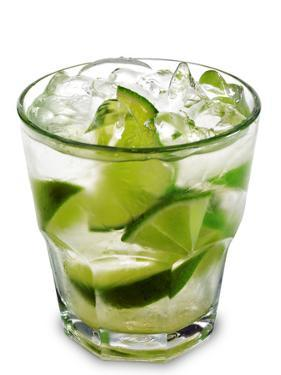 Caipirinha - National Cocktail Of Brazil Made With Cachaca, Sugar And Lime by svry