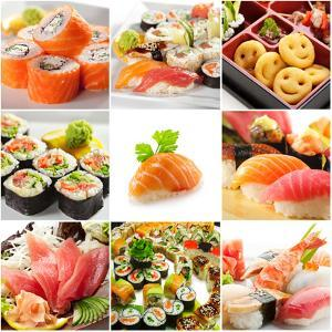 Japanese Food Collage by svry