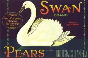 Swan Pear Label