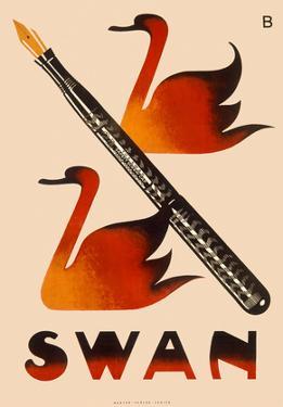 Swan Screw Cap Fountain Pen