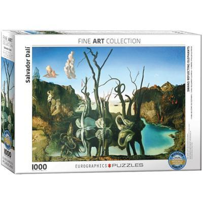 Swans Reflecting Elephants by Salvador Dalí 1000 Piece Puzzle