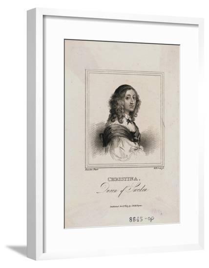 Sweden's Queen Christina--Framed Giclee Print