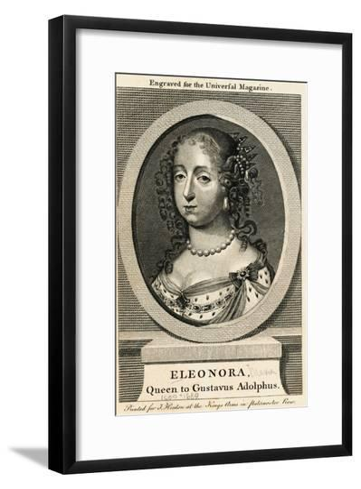 Sweden's Queen Eleonora--Framed Giclee Print