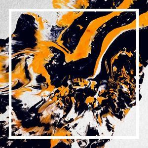 Abstract Art - Black and Gold Marble by Swedish Marble