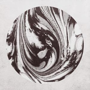 Abstract Marble Sphere of Ink by Swedish Marble