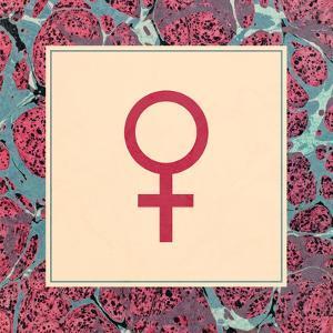 Female Symbol - Feminism by Swedish Marble