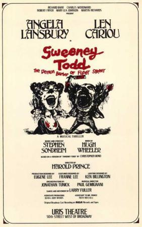 Sweeney Todd - Broadway Poster , 1979