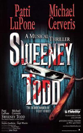 Sweeney Todd - Broadway Poster