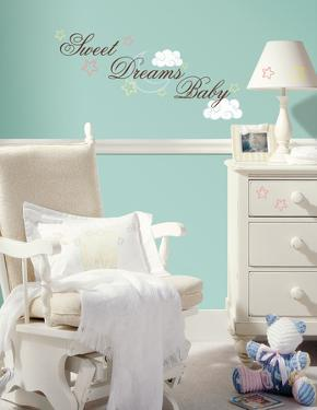 Sweet Dreams Baby Peel & Stick Wall Decals