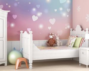 Sweet Hearts Wall Mural