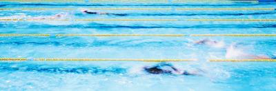 Swimming Pool at John Wooden Center in University of California, Los Angeles, California, USA