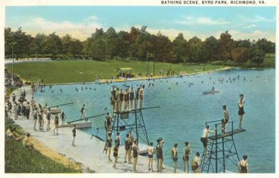 Swimming Pool, Byrd Park, Richmond, Virginia
