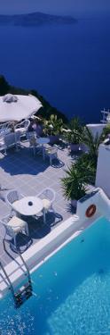 Swimming Pool, Spiliotica Villas, Imerovigli Village, Santorini, Greece