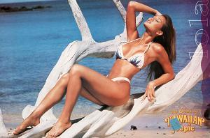Swimsuit Pin-Up, Girls of Hawaiian Tropic, Lola, Photo Print Poster