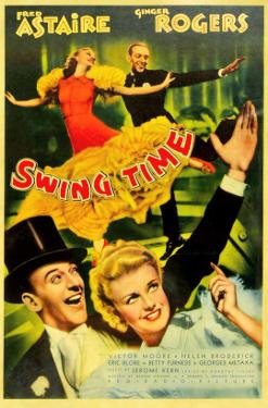 Swing Time, Ginger Rogers, Fred Astaire, Fred Astaire, Ginger Rogers, 1936