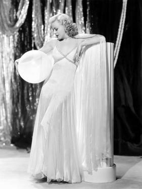 Swing Time, Ginger Rogers in Ensemble Designed by Bernard Newman, 1936
