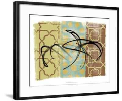 Swirling III-Alonzo Saunders-Framed Art Print