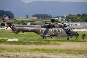 Swiss Air Force Eurocopter Cougar Helicopter