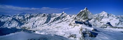 Swiss Alps from Klein Matterhorn, Switzerland