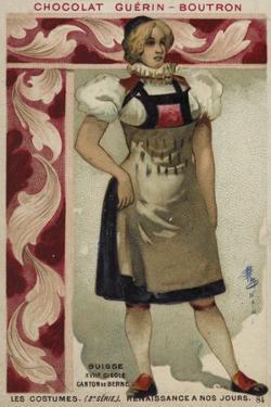 Swiss Costume of the Canton of Bern, 17th Century