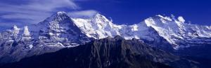 Swiss Mountains, Berner, Oberland, Switzerland