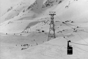 Swiss Skiing Scene