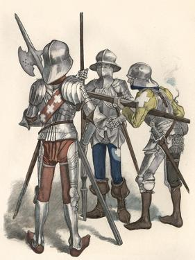Swiss Soldiers, 15th C