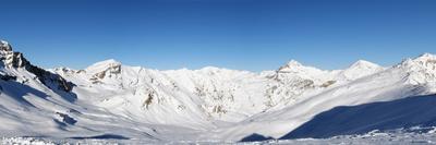 Alpine Panorama (Skiing Area near Scuol, Switzerland)