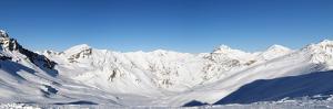 Alpine Panorama (Skiing Area near Scuol, Switzerland) by swisshippo