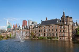Famous Parliament and Court Building Complex Binnenhof in Hague by swisshippo