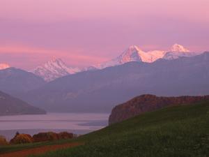 Switzerland, Bernese Alps, Lake Thun