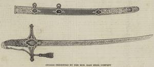 Swords Presented by the Honourable East India Company