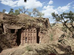 Abba Libanos Church, Lalibela, Unesco World Heritage Site, Ethiopia, Africa by Sybil Sassoon