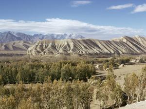 Bamiyan (Bamian) Valley and Koh-I-Baba (Kuh-E-Baba) Mountain Range, Afghanistan by Sybil Sassoon