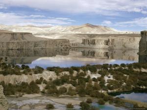 Band-I-Amir Lakes, Afghanistan by Sybil Sassoon