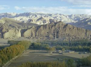 Buddha Statue in Cliffs (Since Destroyed by the Taliban), Bamiyan, Afghanistan by Sybil Sassoon