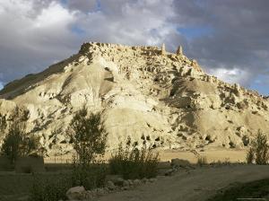 Citadel, Bamiyan Shahr, Gholghola, Afghanistan by Sybil Sassoon
