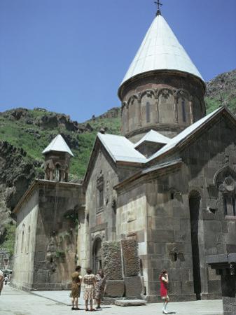 Geghard Monastery, Unesco World Heritage Site, Armenia, Central Asia
