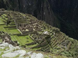 Inca Ruins, Machu Picchu, Unesco World Heritage Site, Peru, South America by Sybil Sassoon